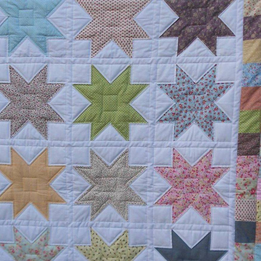 Eight Point Star Quilt