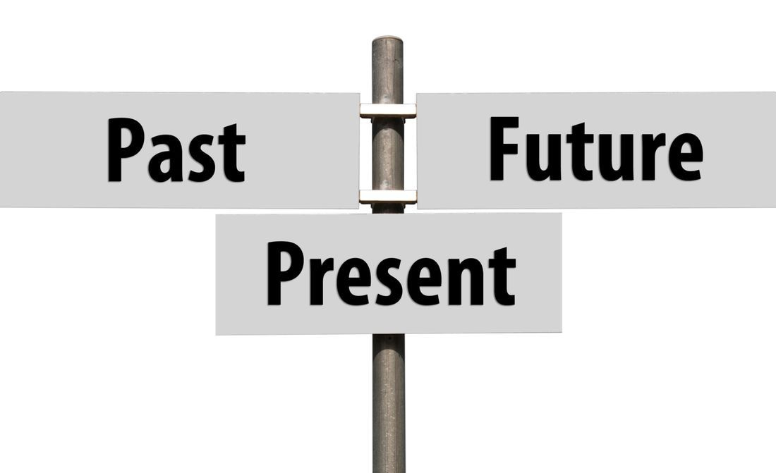 Sign, Past, Present, Future, Paths of Life,
