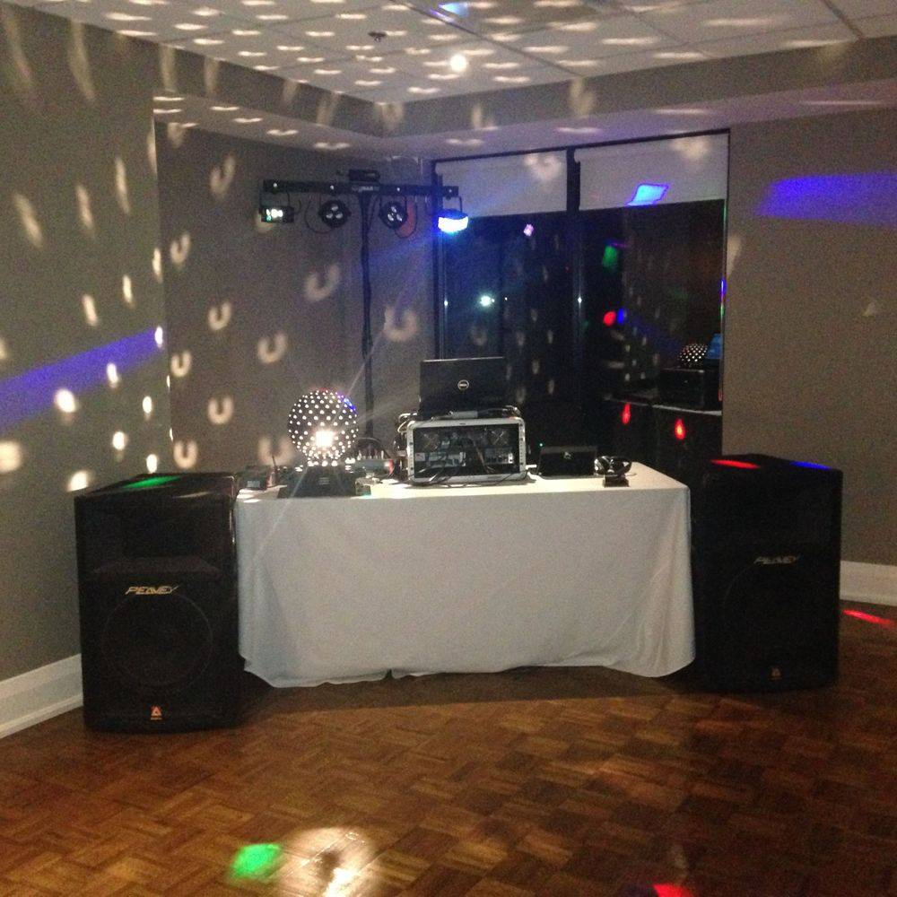 DJ for a Christmas Party in Dundas