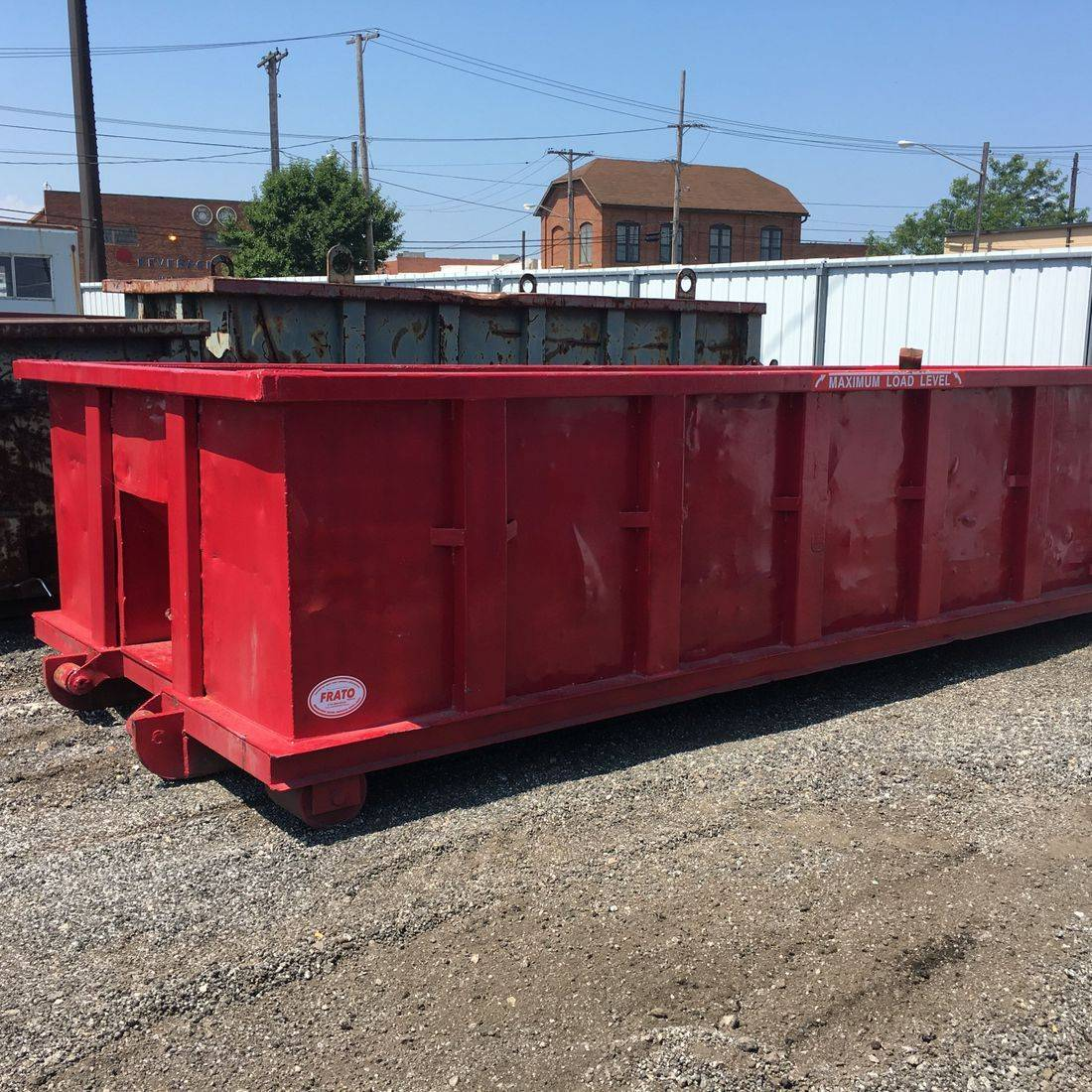 Frato Products - Dumpster Repair and Painting