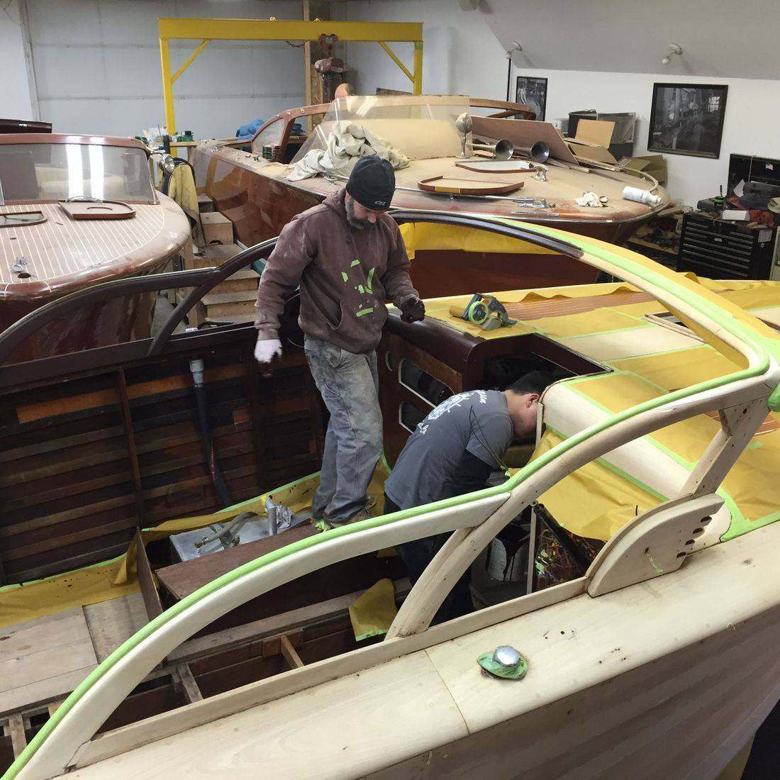 Shepherd Restoration at Bergersen Boat Co.
