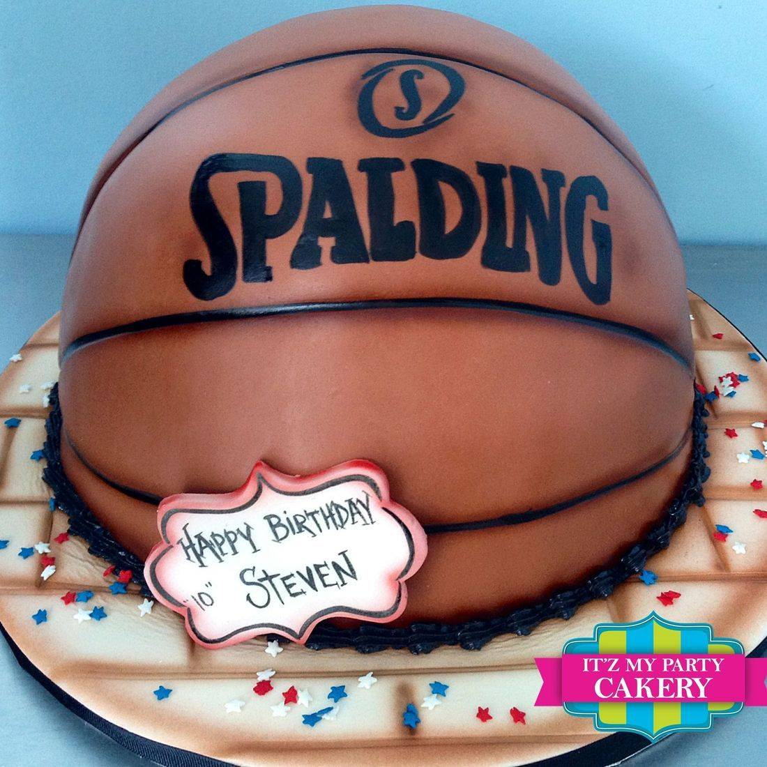 Basketball Carved Dimensional Cake Milwaukee
