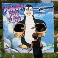 Penguin Toss Game for Kids