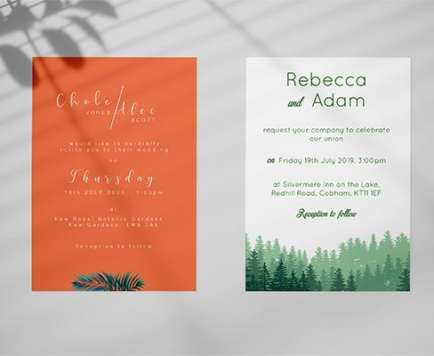 Tropical weddings and Forest. Blog Image