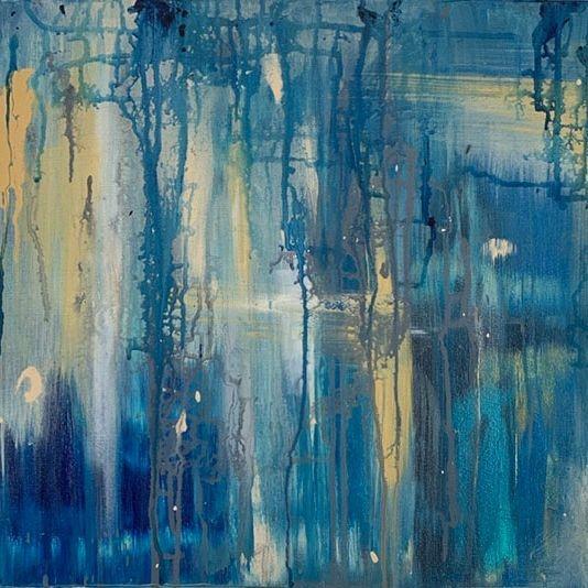 KRobinson - Molified Memories - 18x24 Acrylics $295