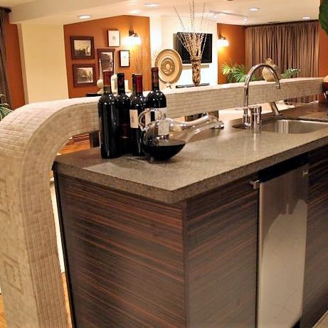 Sibra Kitchens Markham Toronto cabinets HGTV bar
