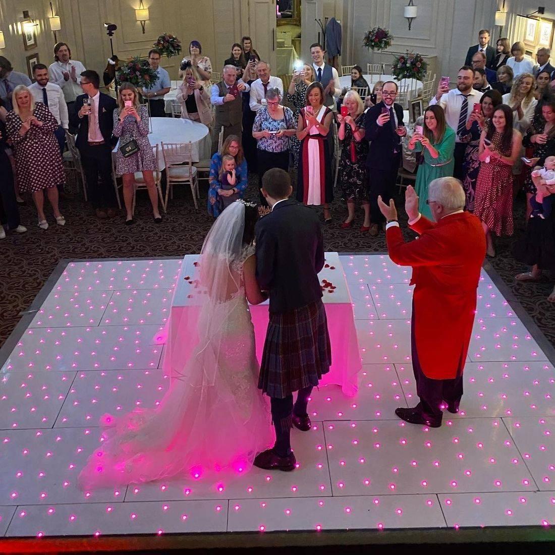 Led Dancefloor and Weddings Worcestershire