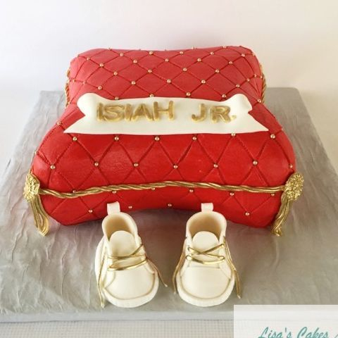 Baby Shower Pillow Cake