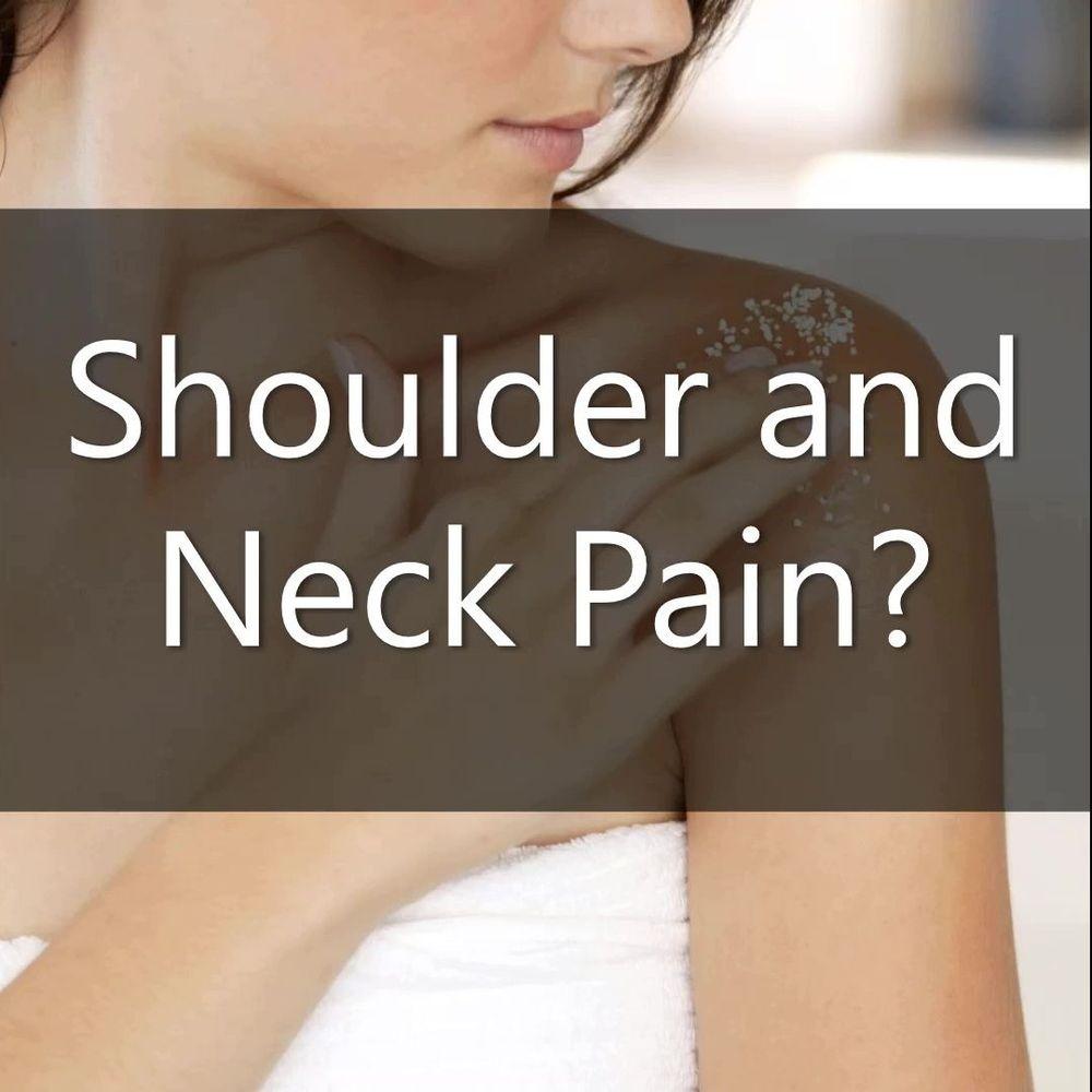 Shoulder pain? Neck pain?