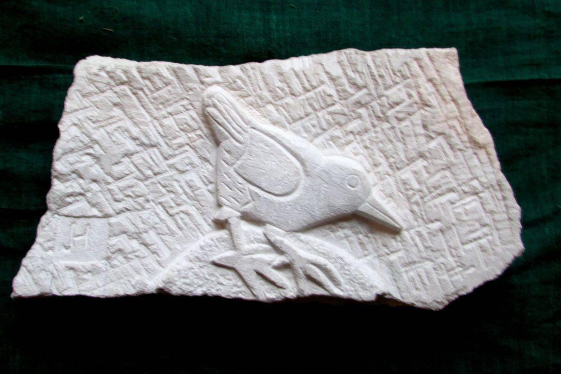 www.colebrookestoneandclay.com,james,hourigan,carving,relief,Portland,bird