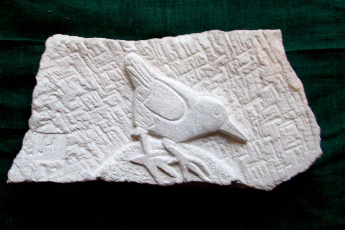 www.colebrookestoneandclay.com,james,hourigan,carving,relief,Portland,bird