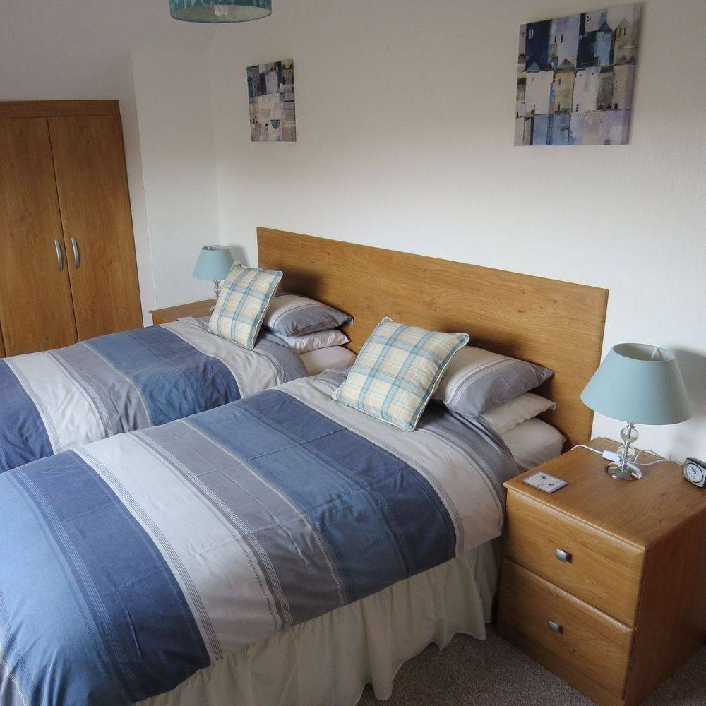 Twin bedroom Driftwood Suite Isle of Skye holiday accommodation