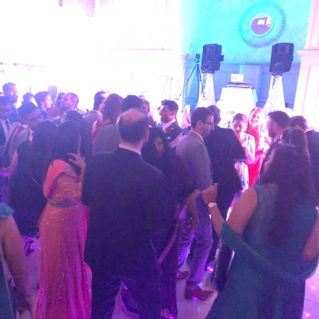 Pendrell Hall Wedding Venue  DJ & LED Dancefloor  Ollie Clarke