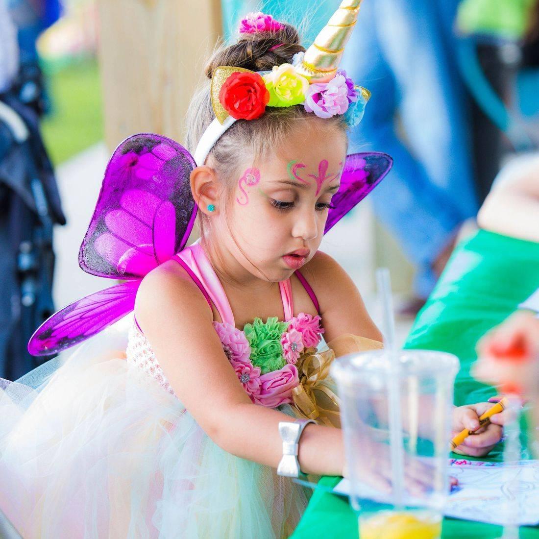 painting, fun, crafts, fairy costume