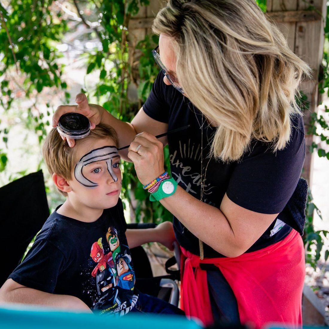 Page Deulin - Face Painting Chicago