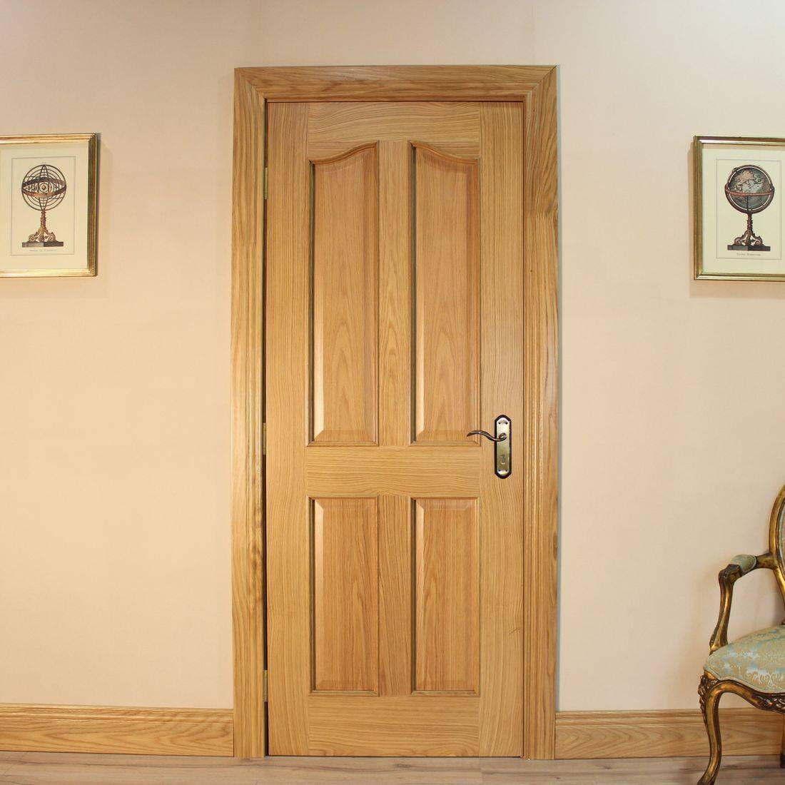 Seadec Belfast Oak 4 Panel Curved