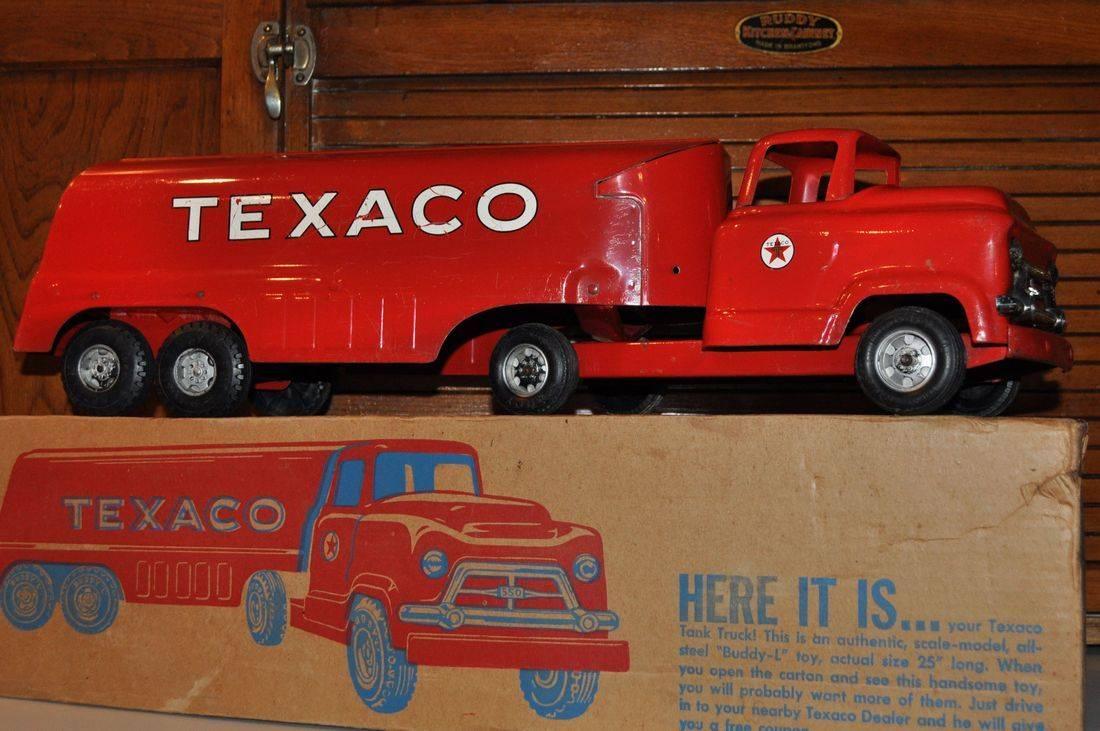 Vintage Texaco Tanker