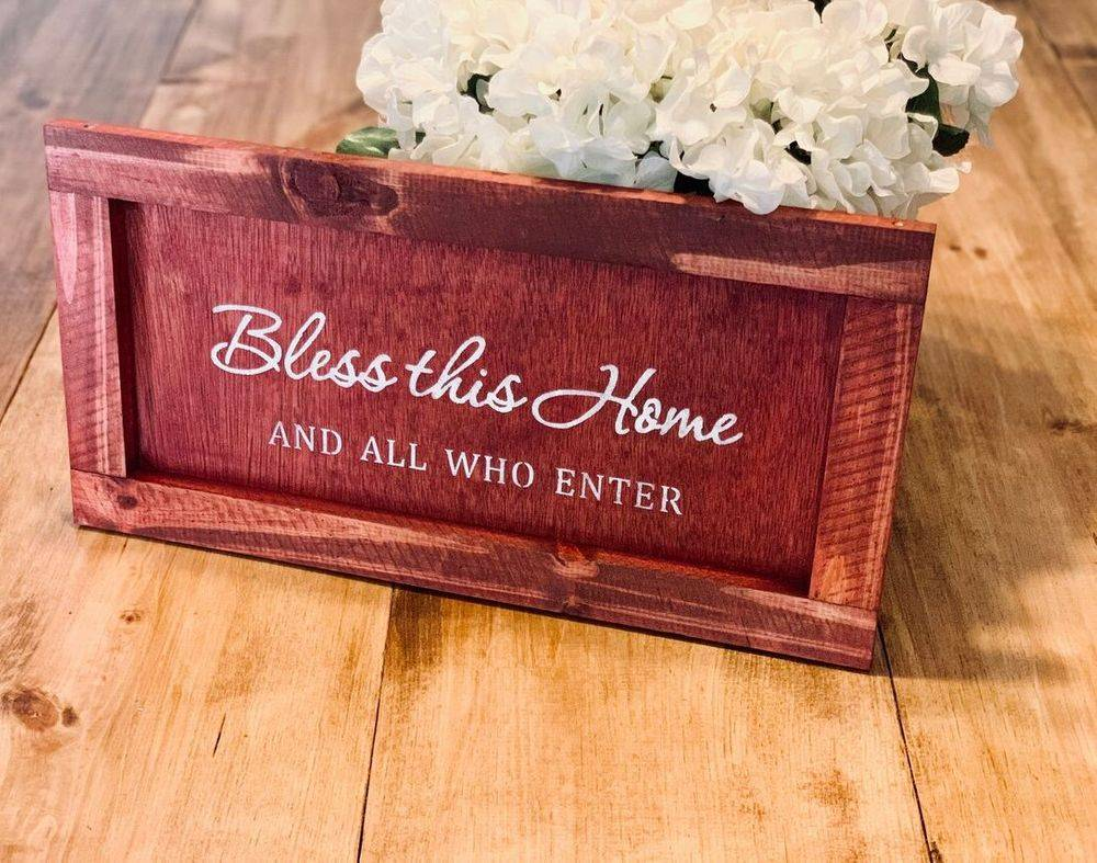 Handmade Bless This HOme