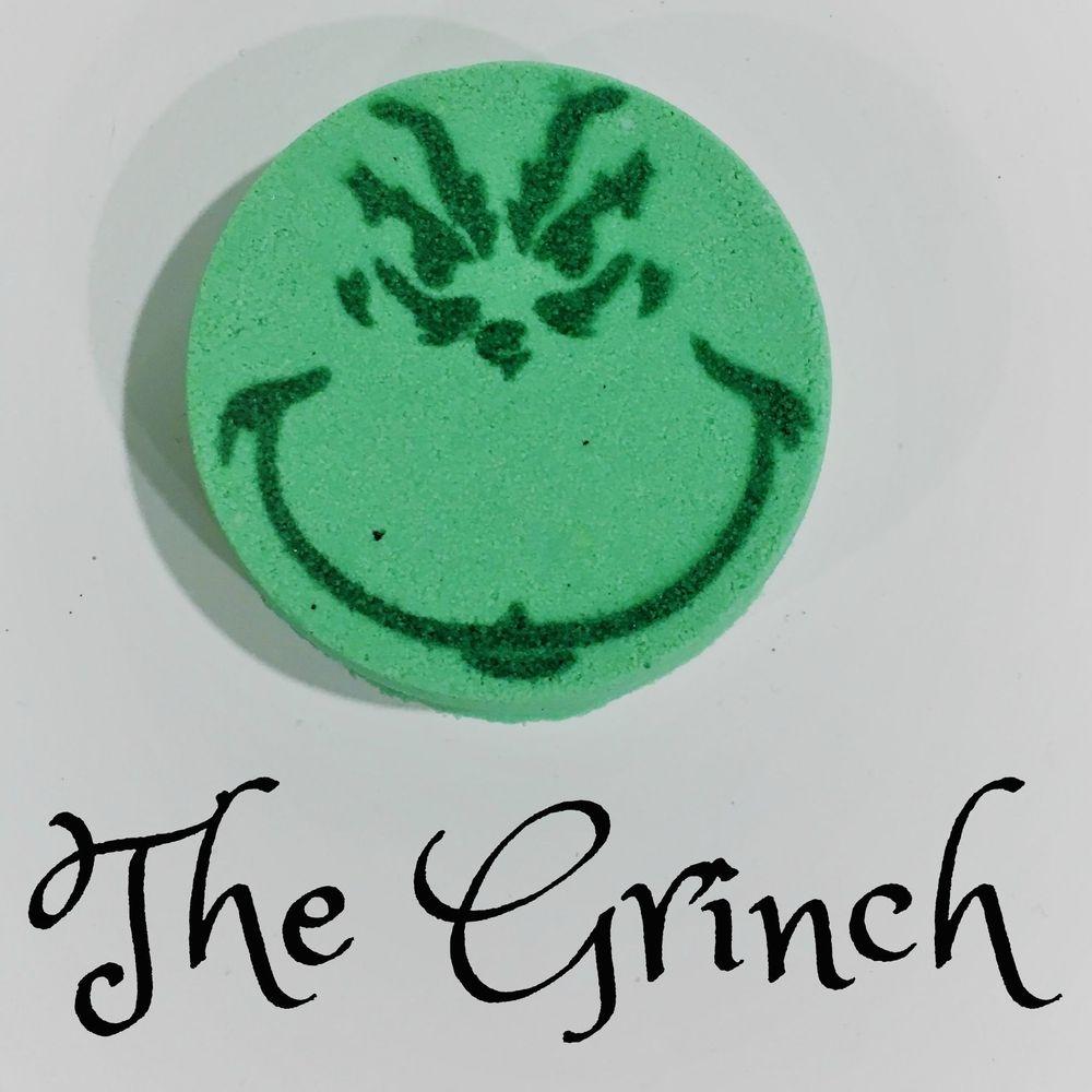 The Grinch Bath Bomb, Deluxe Bath Shop
