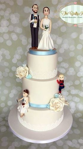 Wedding cakes, Cardiff, Vale of Glamorgan, South Wales