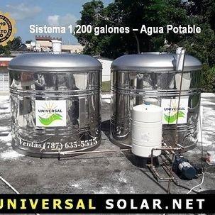 Calentadores Solares Instalados