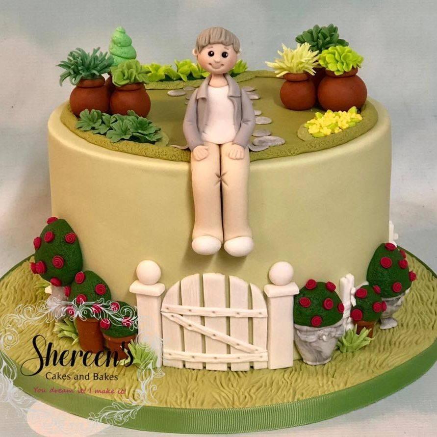 Birthday Cake Garden