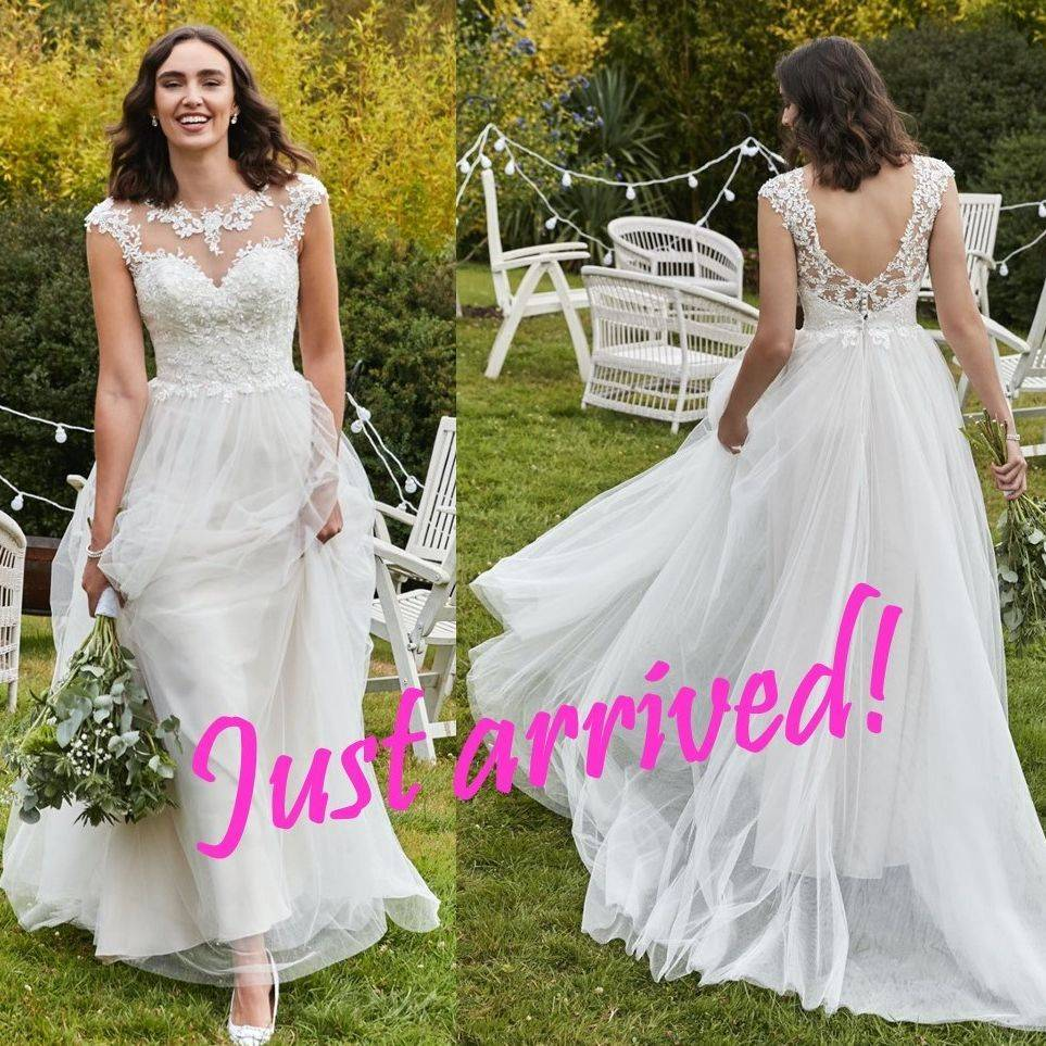 BoHo  wedding dress in Rum Pink