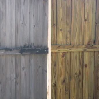 Reliable, reasonable, responsible, wood, fence, pressure wash, wilmington nc