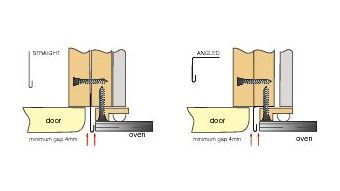 Heat Deflector Installation- Kitchen Doors