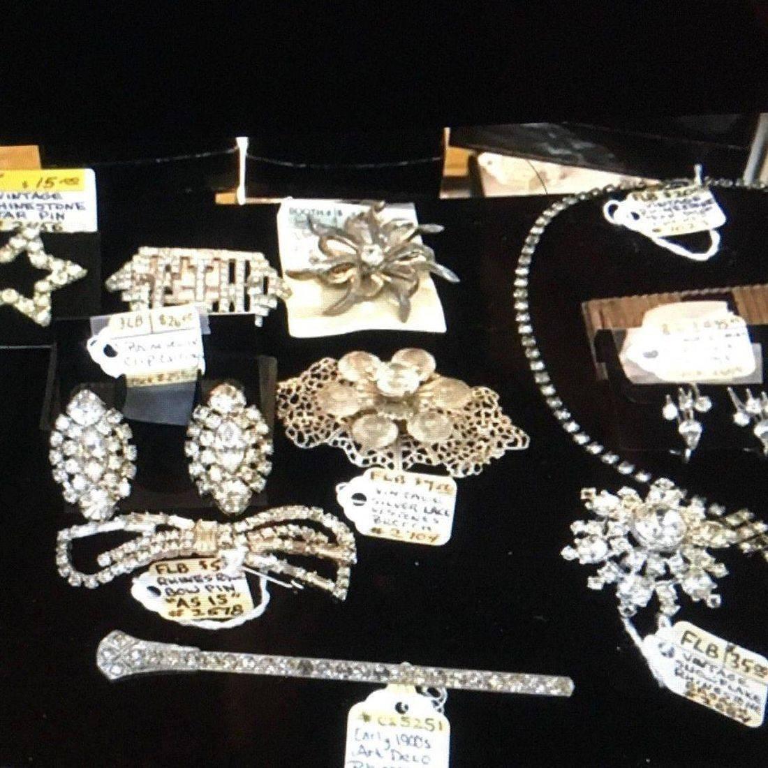 Various Vintage Rhinestone Jewelry  $5.00 to $60.00