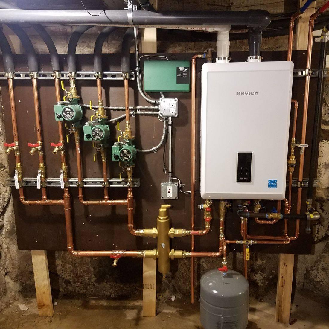 Navien Combination Boiler