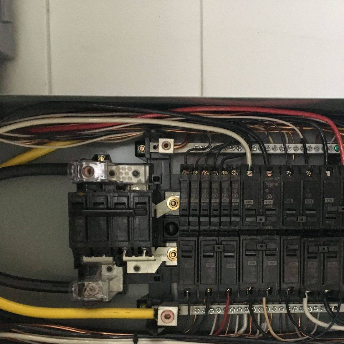 100 amp Paneel upgraded to this 200 amp panel with minimal power outage!