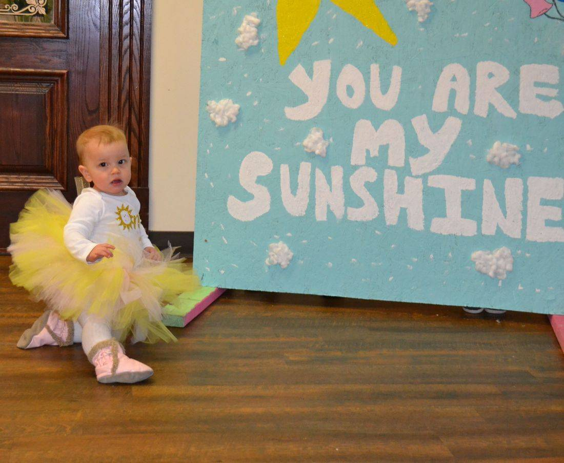 you are my sunshine, baby's first birthday ideas