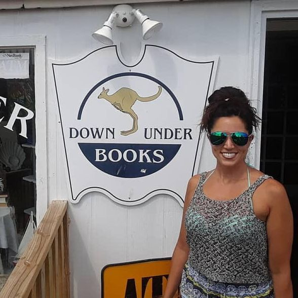 Andrea R Freeman, Author, Messages From My Grandparents In Heaven, Down Under Books, Ocean City Maryland, Book Release, Book Signing, Book Discussion