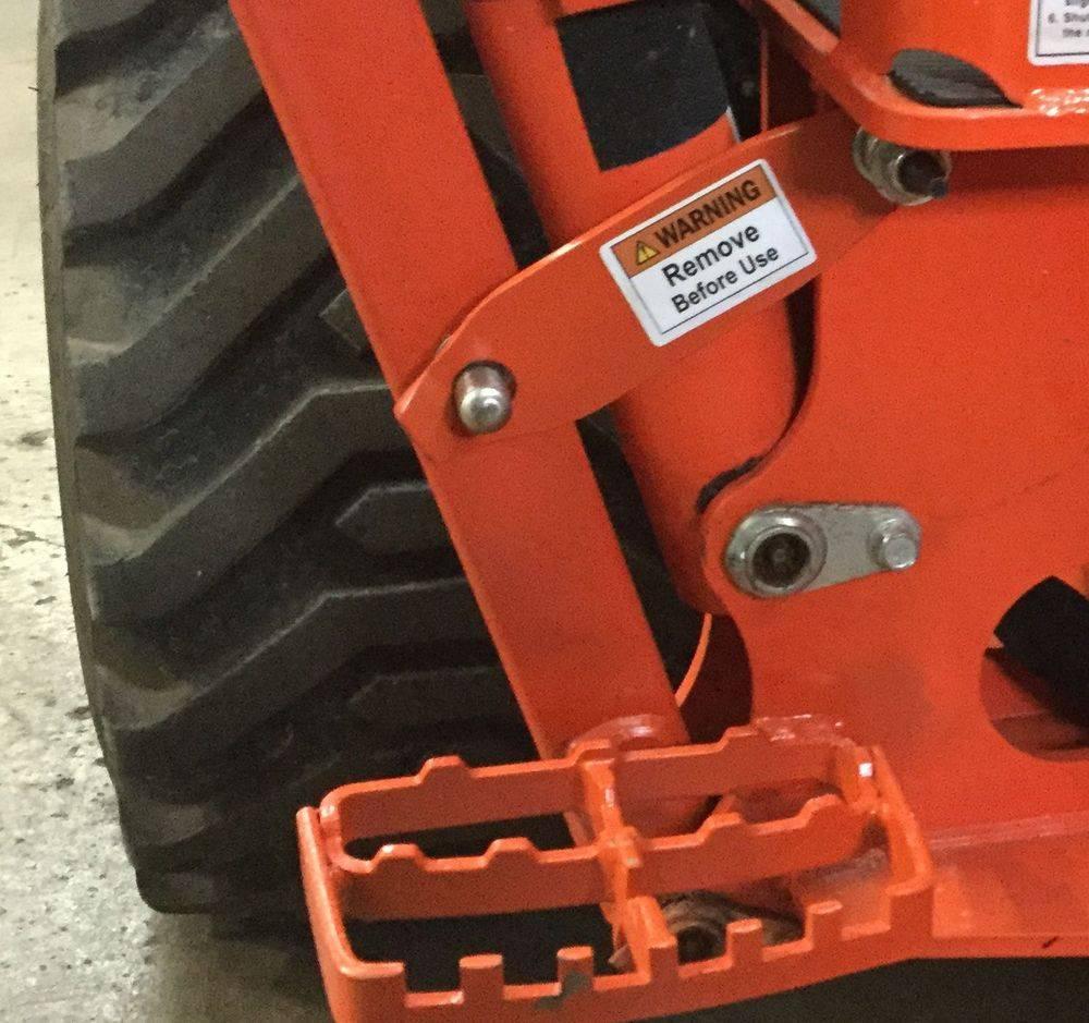 Kubota tractors bracbets outriggers