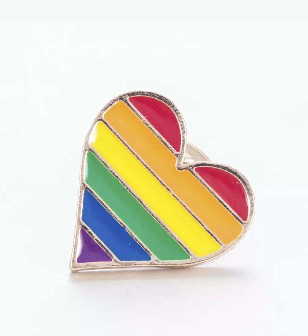 LGBTQ, pin badge