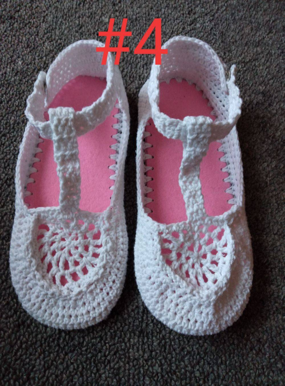 Cotton Boho Shoe Handmade White