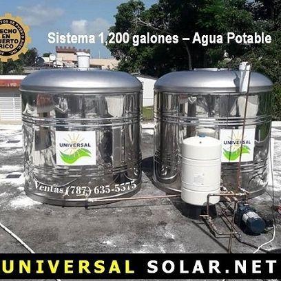 Cisternas UNIVERSAL - Bono $300