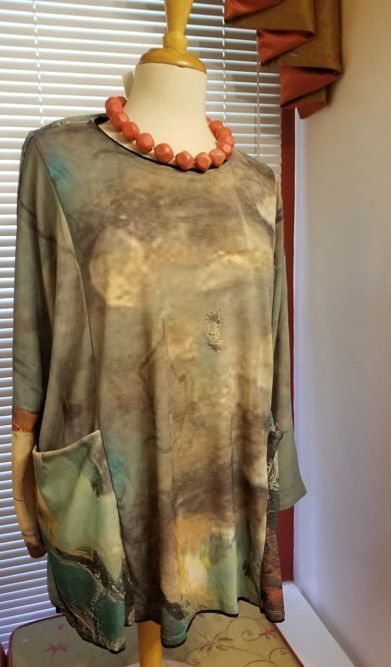 Art to Wear Tunic top
