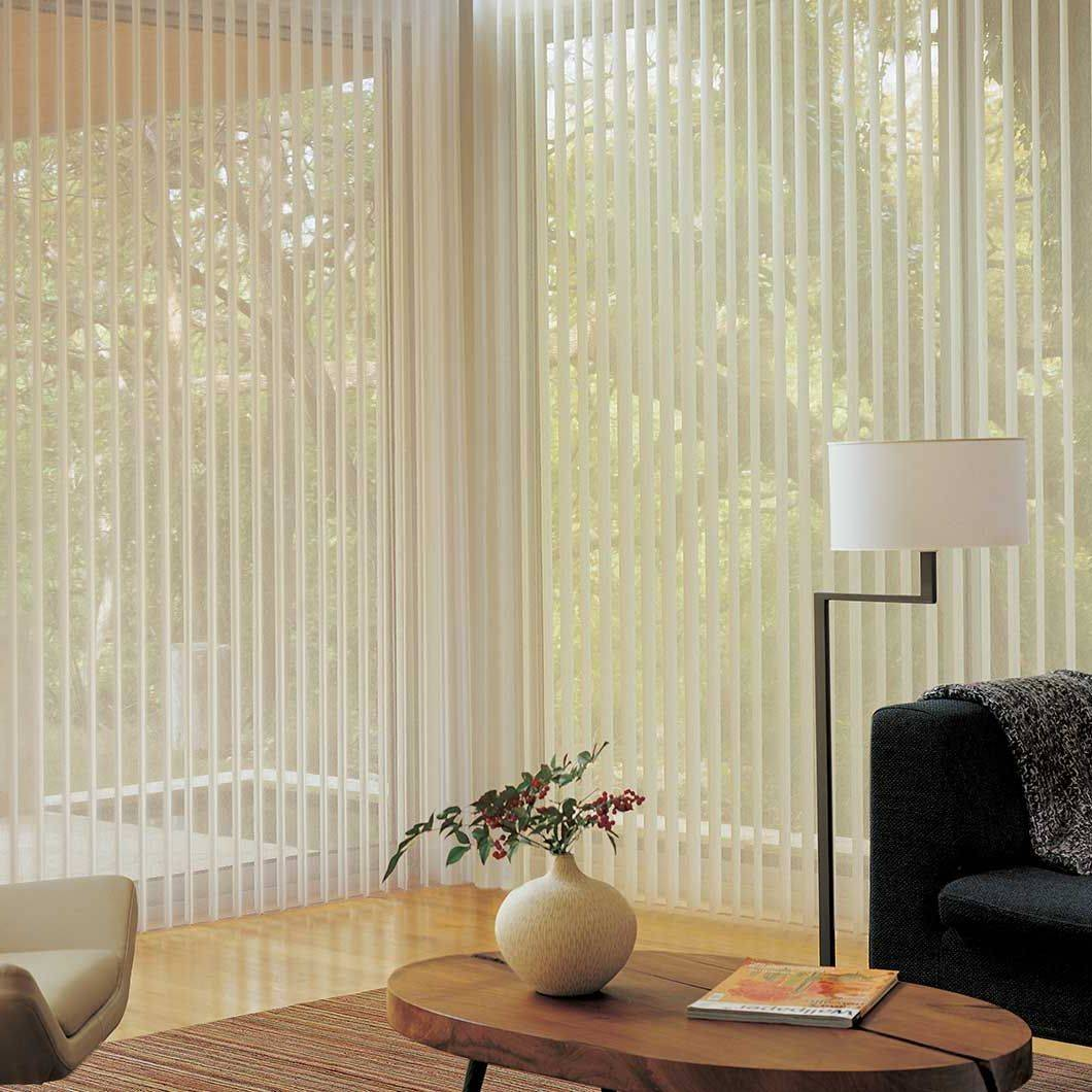 Luminette Vertical Privacy Sheers