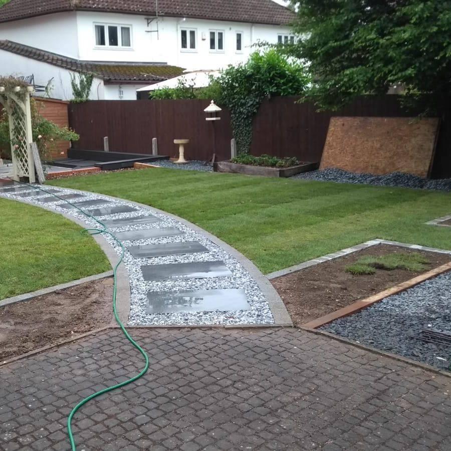 Garden Landscaping in Berkshire