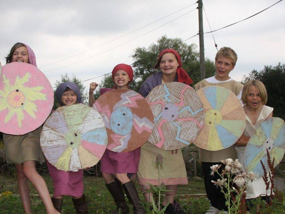 Anglo Saxon and Viking workshop for primary school ks1 & ks2
