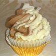 Vegan Coconut Bounty Cupcake vanillia sponge chocolcate coconut icing