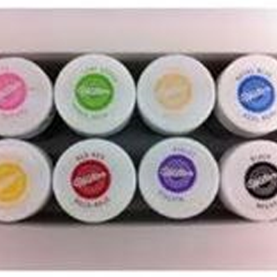 Wilton and Sugarflair concentrated gel colours. Price £3.25 each