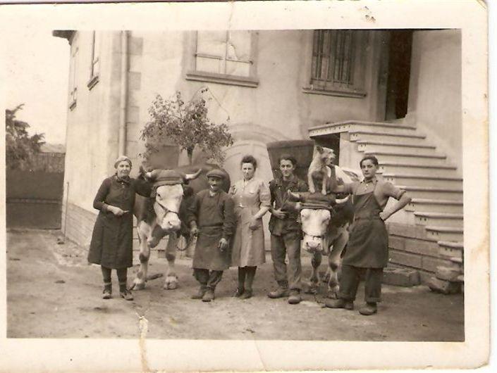 Ancienne scène de vendanges à Blienschwiller