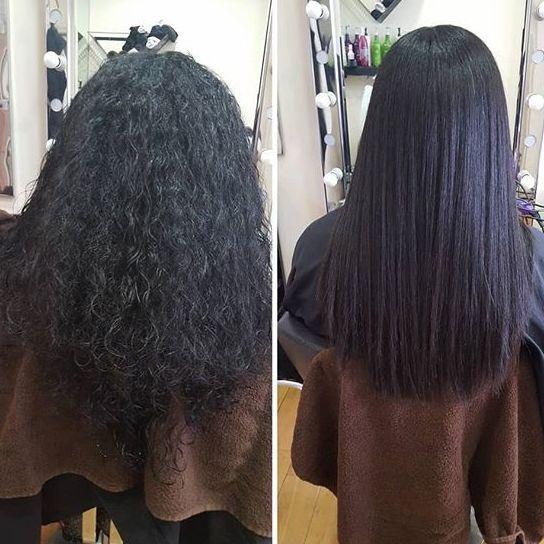 Hair salon Blow Dry brazilian keratin Tottenham north London salon