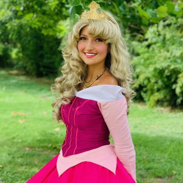 Princess Aurora Sleeping Beauty for children's birthday parties in San Antonio
