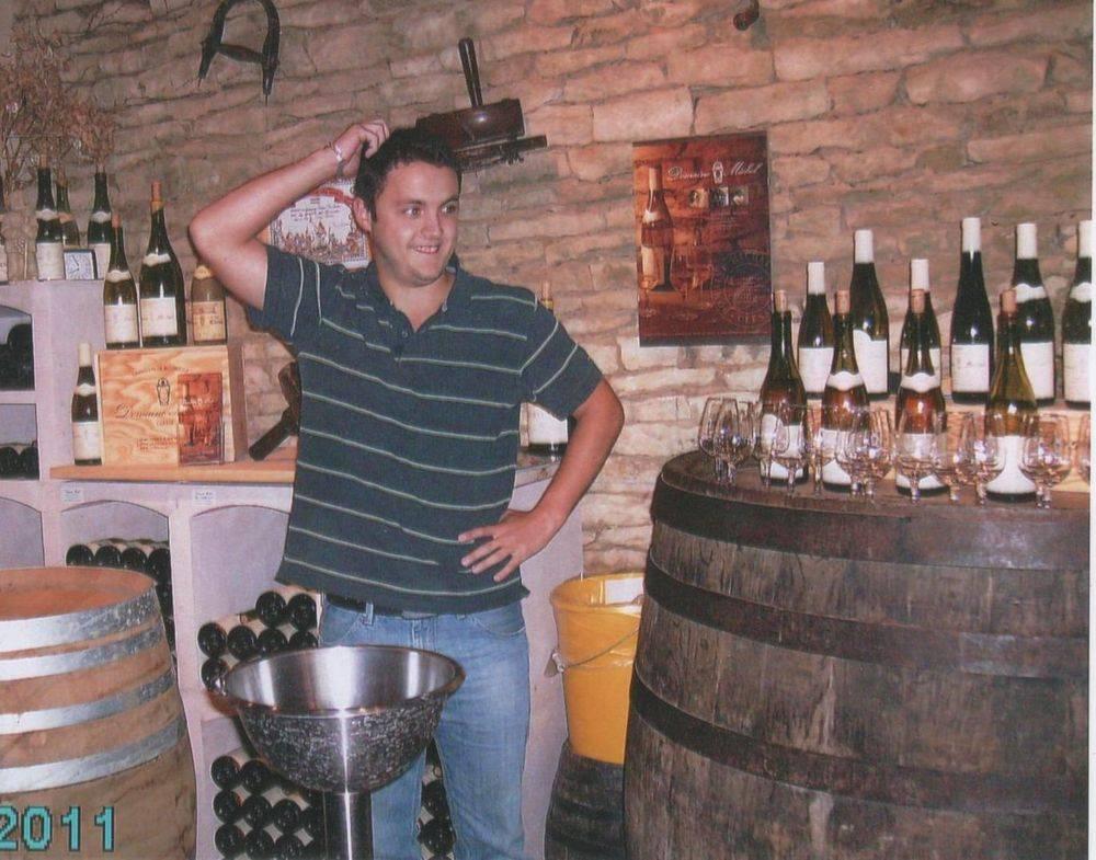 In a vineyard Tasting Room