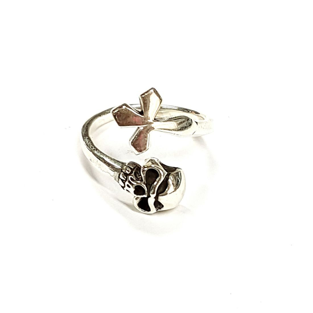 Skull & Cross Ring  available at Kazbah online and our Leicester City Centre shop