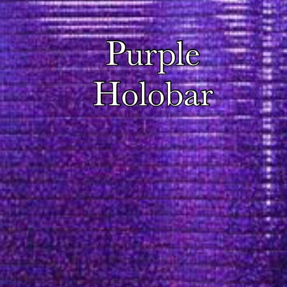 Purple holobar